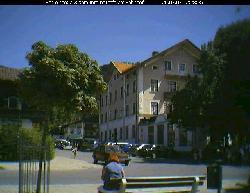 Blick auf die Bahnhofstraße