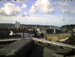 Blick aus der Innenstadt Richtung Süden