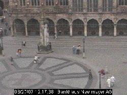 Blick auf den Platz