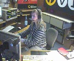 Blick in das Radiostudio von rb vier