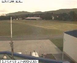 Blick auf den Flugplatz