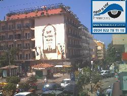 Blick von der Autovermietung Hermanns auf das Gebäude