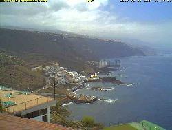 Blick auf die Küstenlinie