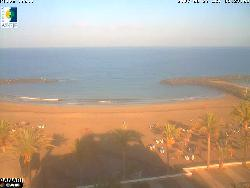 Der Strand Playa de Troya