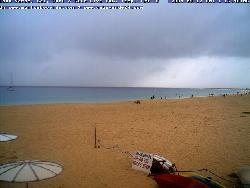 Webcam des Surfcenters auf den Strand