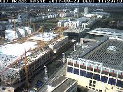 Ein anderer Blickwinkel auf die Baustelle