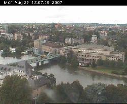 Blick nach Südwesten zur Ruhr (Schlossbrücke)