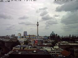Blick von der DBM Richtung Postdamer Platz