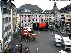 Blick auf das Ostende des Marktplatzes
