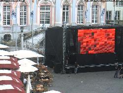 Diese Webkamera zeigt einen Ausschnitt des Bonner Rathauses.