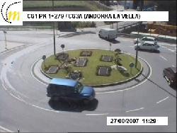 Kreisverkehr an der CG-3