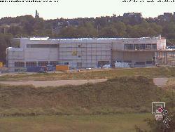 Blick auf den gesamten Neubau