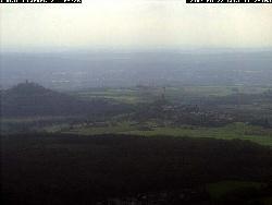 Teleblick von Westen auf Gießen, gibt es auch als Weitwinkelansicht