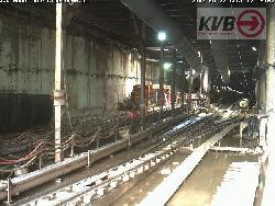 Unterirdische Baustelle am Bonner Wall