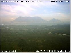 Blick auf den Tafelberg vom Sunset Beach Haus