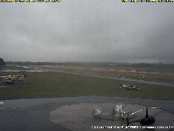 Blick auf das Flugfeld Hangelar