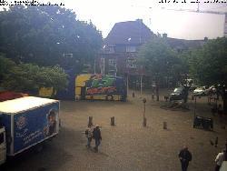 Blick auf die Rathausstraße