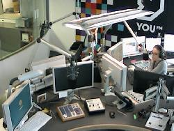 Anderer Blickwinkel auf Radiostudio I