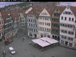 Blick auf Marktplatz und Österberg