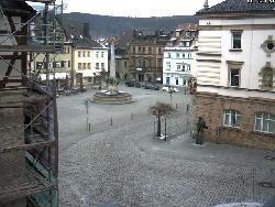 Blick vom Oberhacken auf den Marktplatz