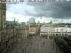 Blick auf den Rathausmarkt