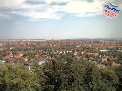 Panoramblick über Halberstadt