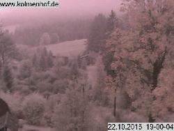 stündliches Bild aus Richtung des Berggasthofes Martinskapelle