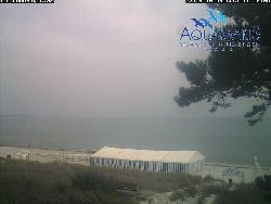 Ausblick zum AQUAMARIS-Ostseestrand