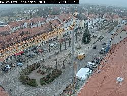 Blickrichtung Süd auf den Marktplatz