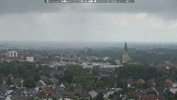 Blick auf die Paderborner Innenstadt